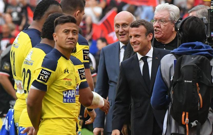 Rugby - Top 14 - Macron victime des sifflets du Stade de France... dirigés vers Laporte