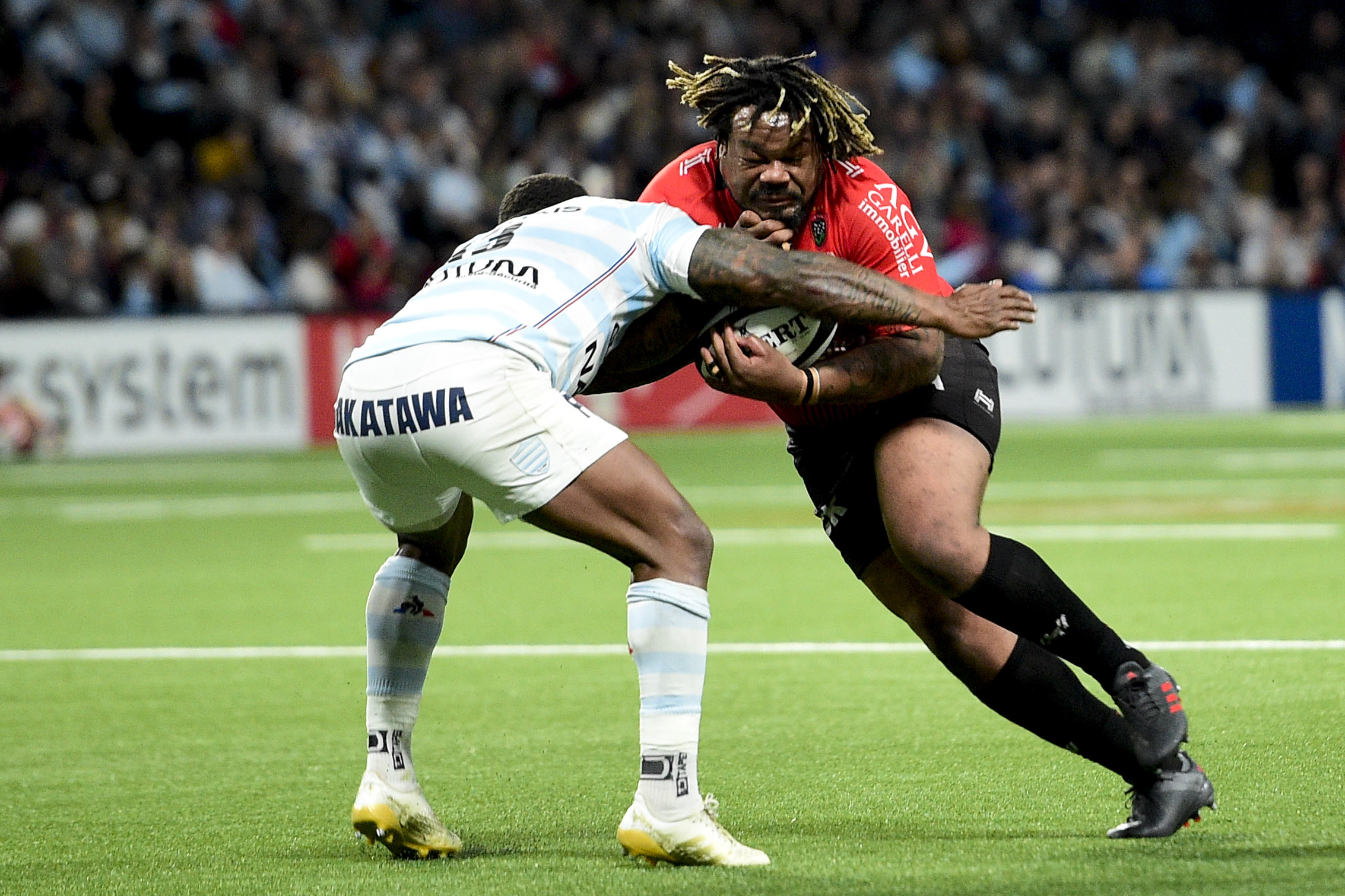 Rugby - Top 14 - Mathieu Bastareaud, nouveau club et nouveau poste ?
