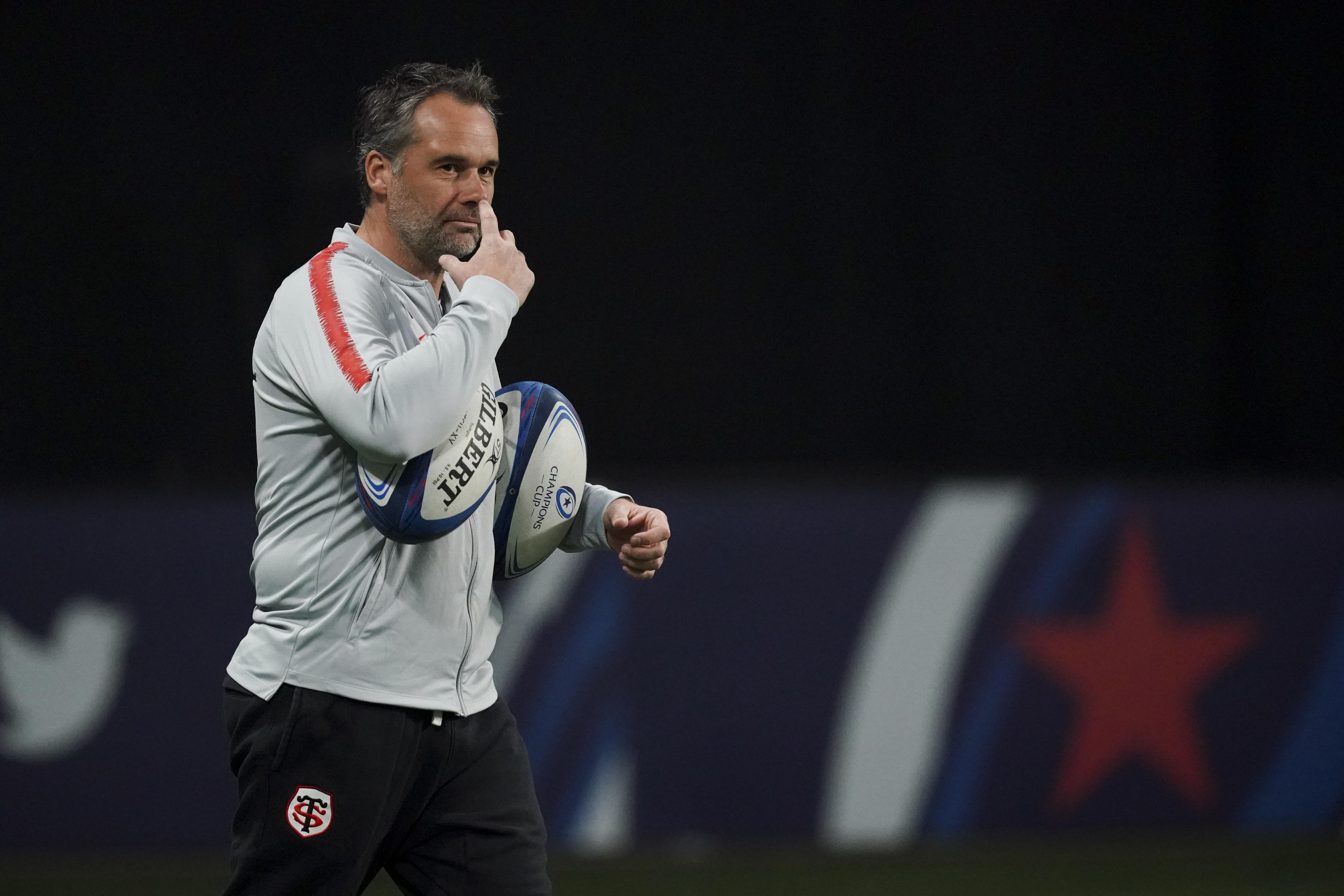 Rugby - Top 14 - Mola (Stade Toulousain) : «Clermont ne s'est pas souvent renié, nous non plus»