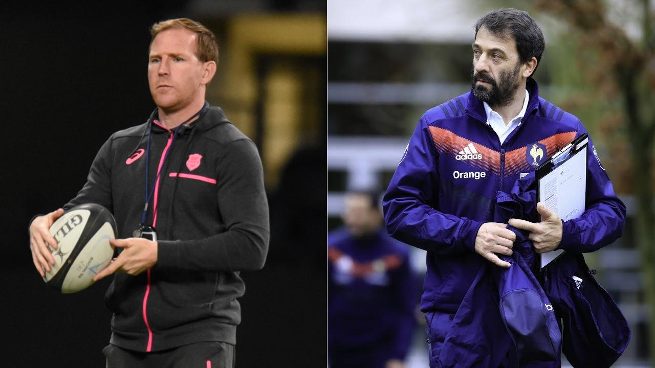 Rugby - Top 14 - Avec Prendergast et Doussy, le Racing 92 tient son nouveau staff