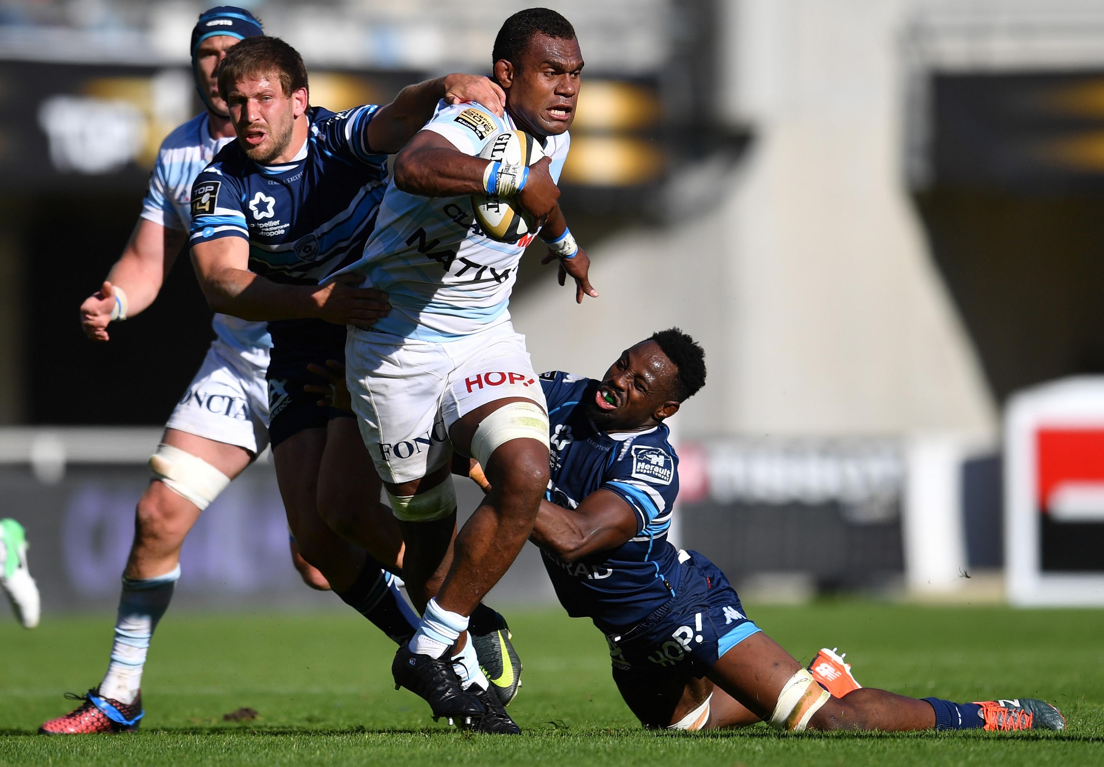 Rugby - Top 14 - Racing : avec Nakarawa, les mains ont la parole