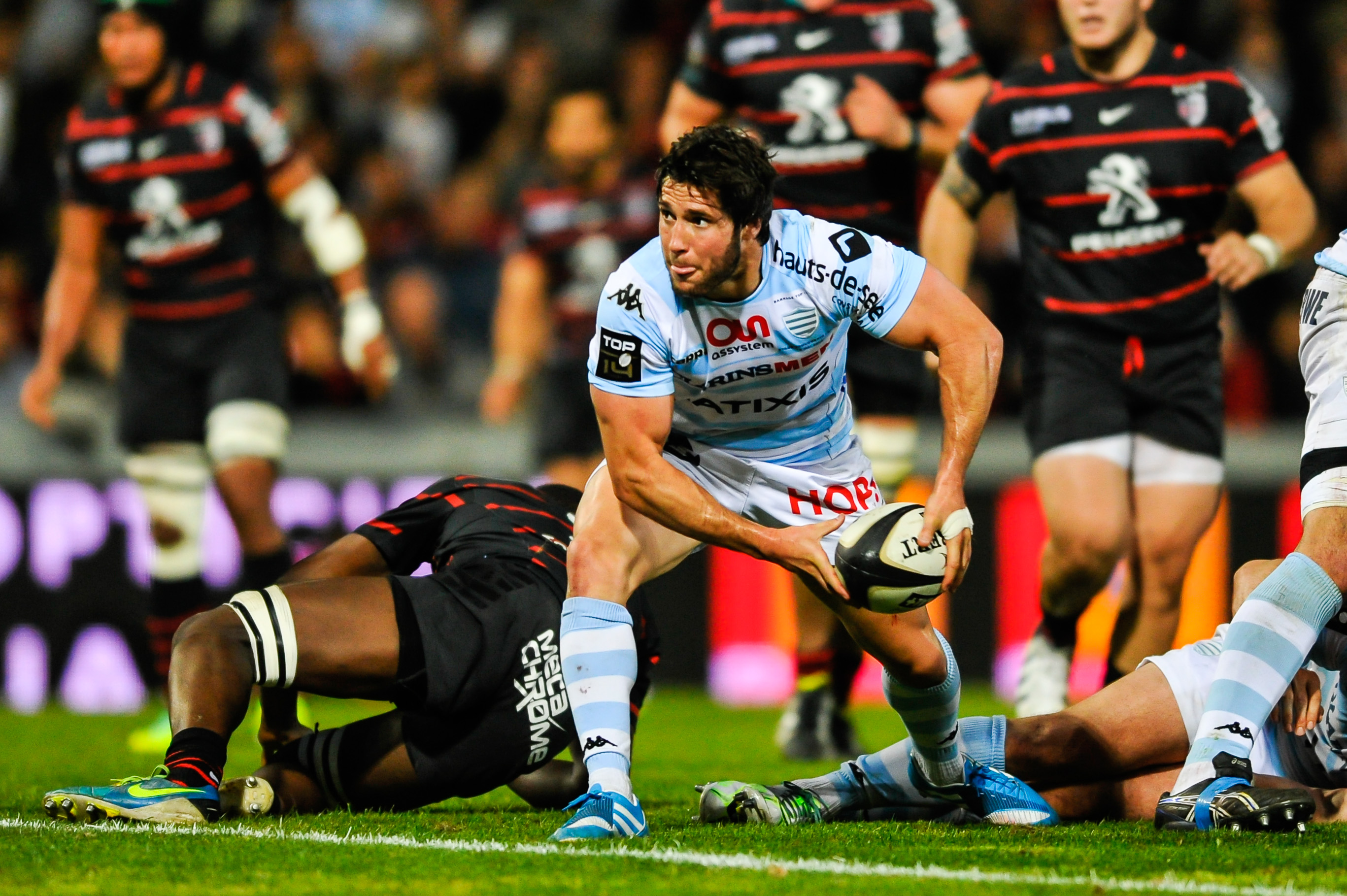 rugby top 14 racing metro toulouse en direct