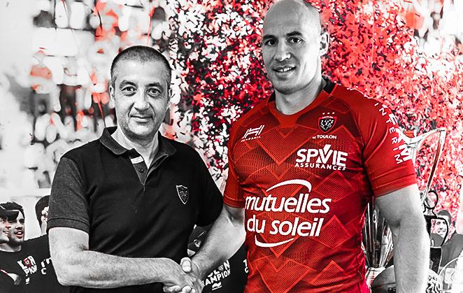 Rugby - Top 14 - Sergio Parisse rebondit à Toulon