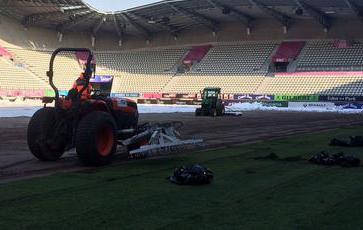 Rugby - Top 14 - Stade Français : Jean-Bouin fait pelouse neuve
