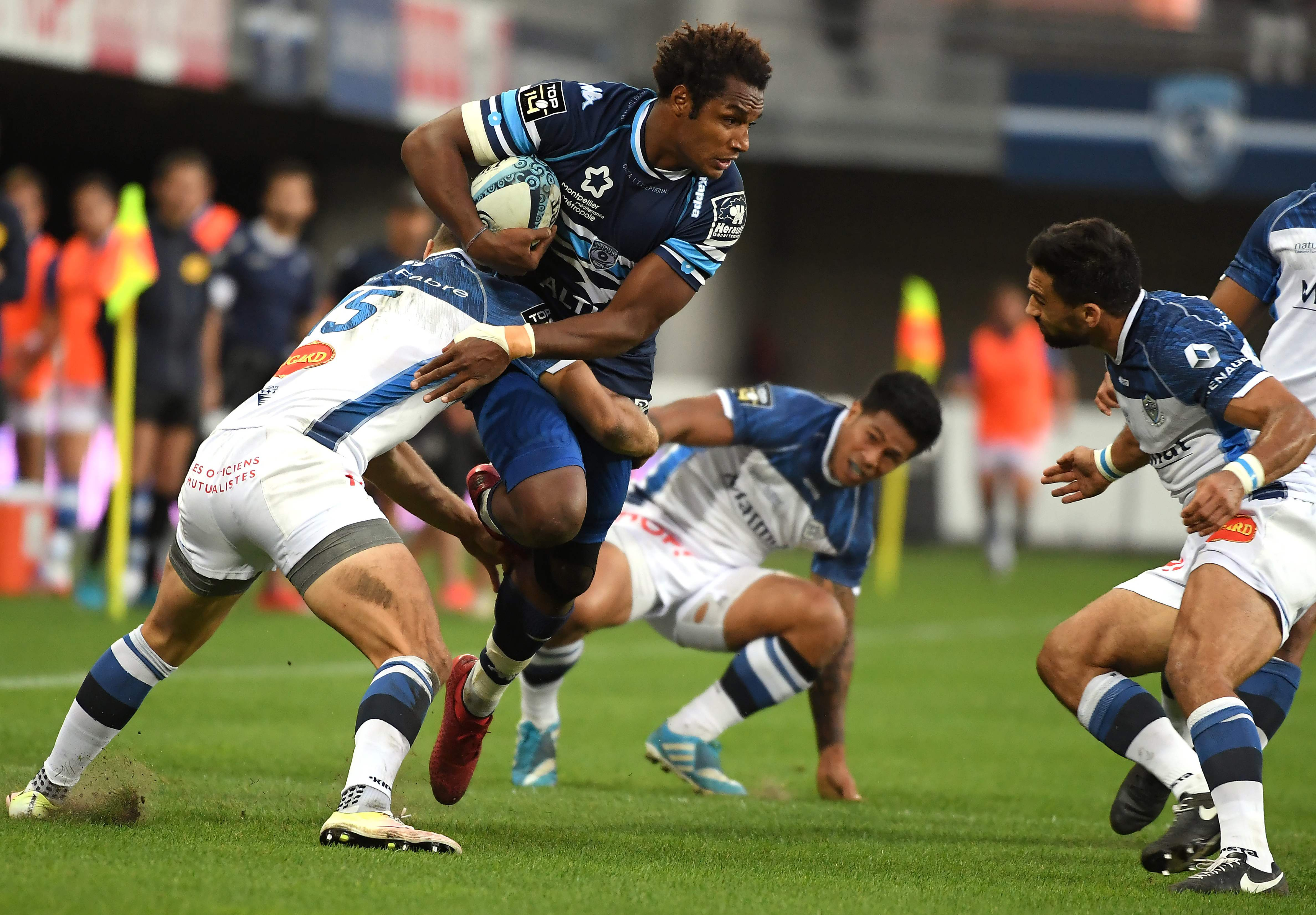 Rugby - Top 14 - Montpellier engrange, Grenoble cartonne Bayonne