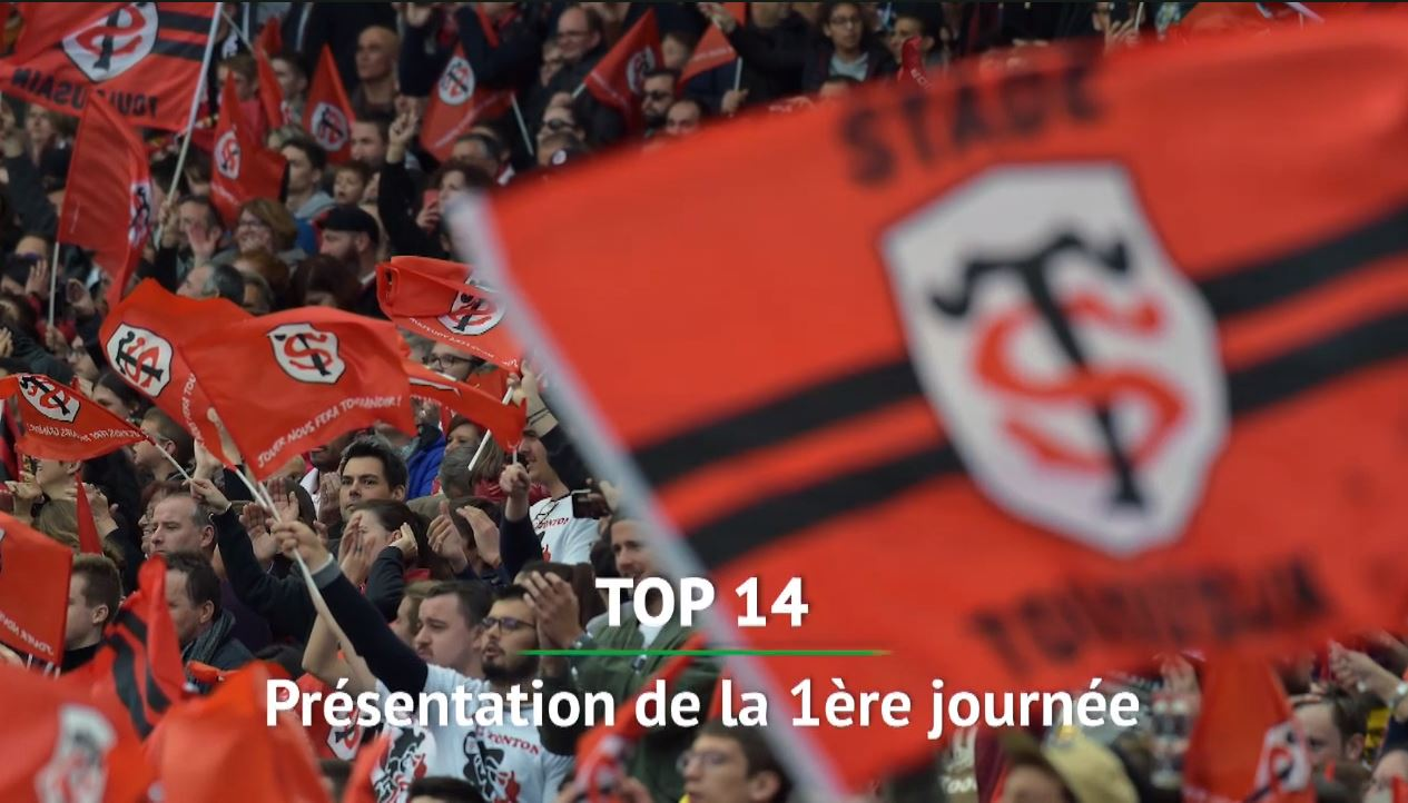 Rugby - Top 14 - Top 14 : le programme de la première journée (vidéo)