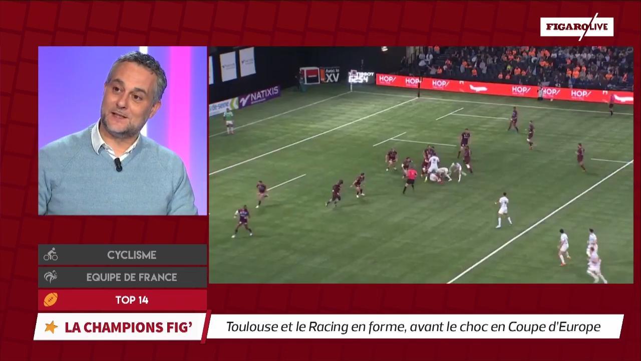 Rugby - Top 14 - Top 14 : Toulouse et le Racing 92 en forme, avant le choc dimanche