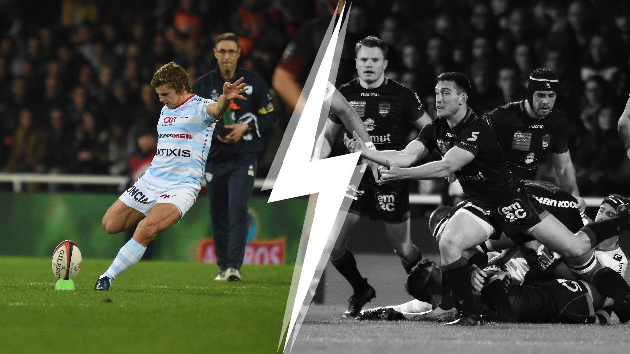 Rugby - Top 14 - Tops/Flops Lyon-Racing 92 : Lambie a guidé le Racing, le Lou perd du terrain
