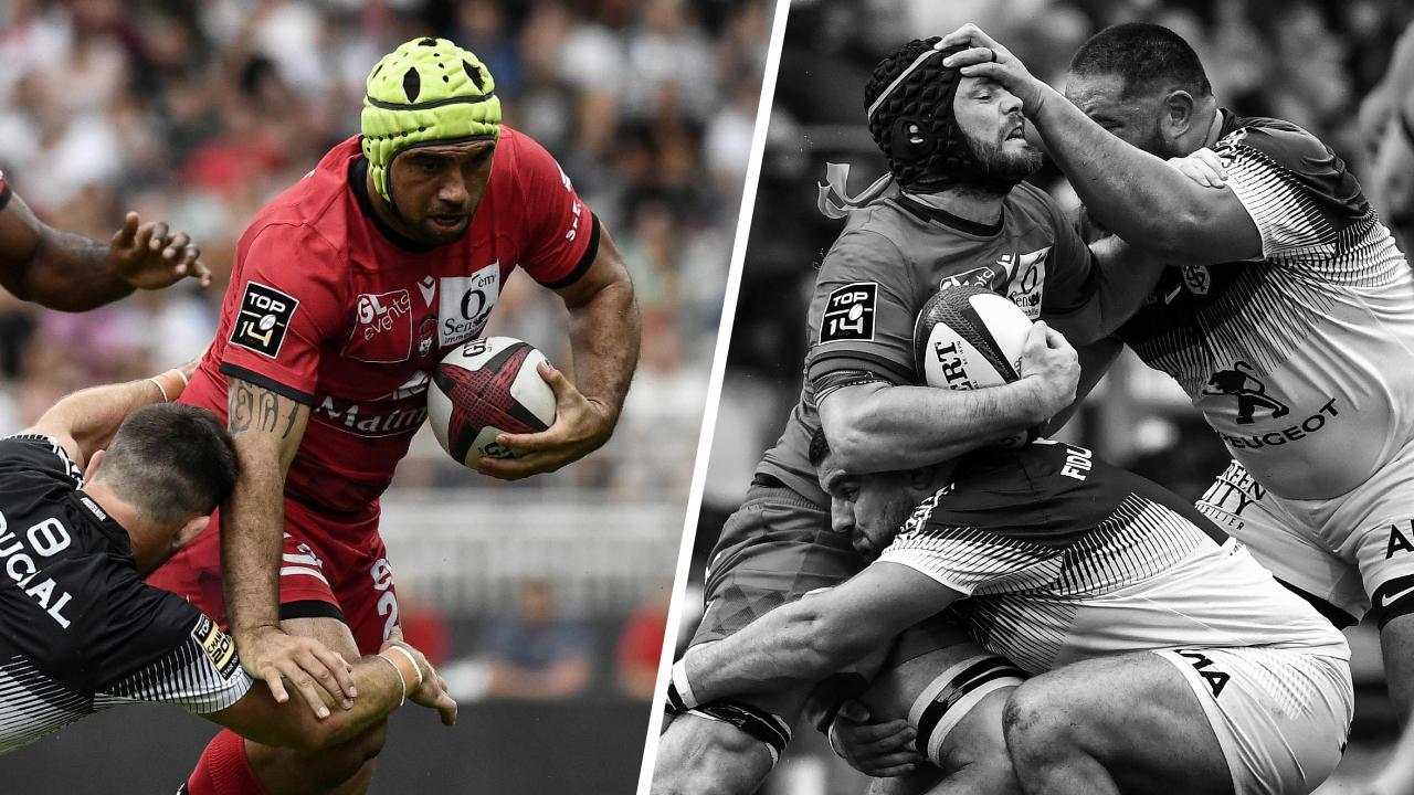 Rugby - Top 14 - Tops/Flops Lyon-Toulouse : Ngatai dans tous les bons coups, des Toulousains en difficulté