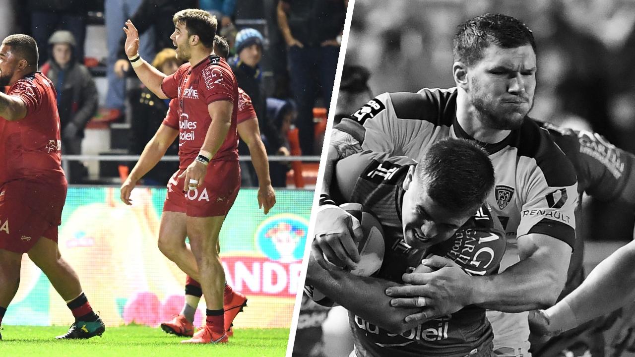 Rugby - Top 14 - Tops/Flops Toulon-Clermont : Toulon finit bien, Clermont indiscipliné