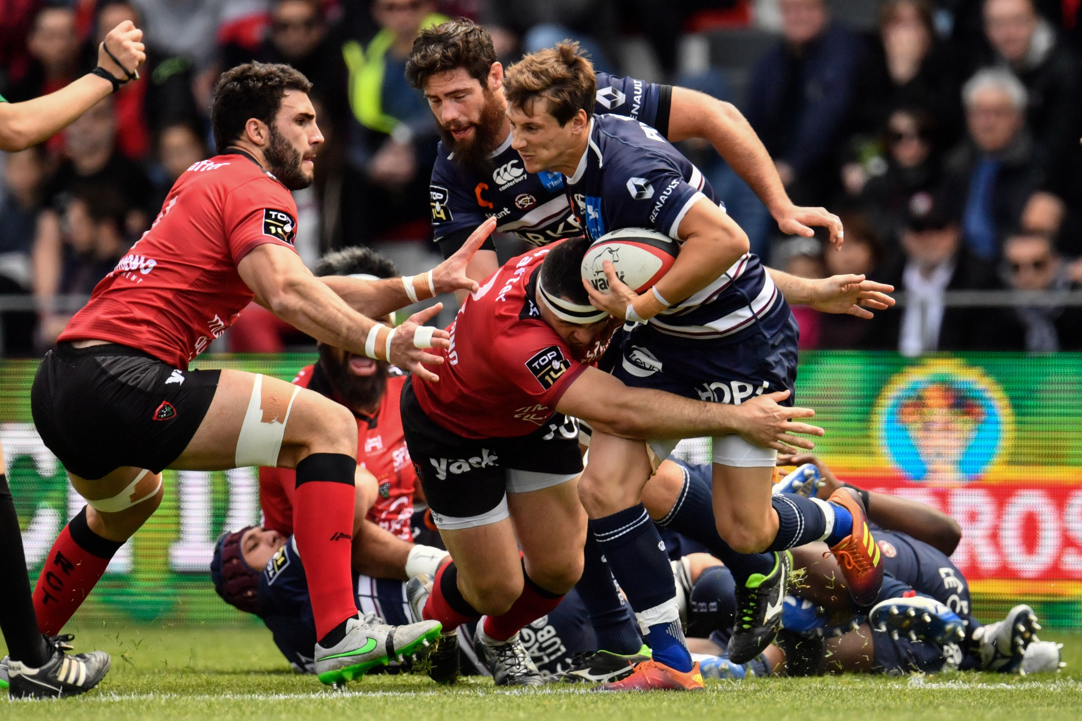 Rugby - Top 14 - Tops/Flops Toulon-UBB : Ory étincelant, Radradra transparent