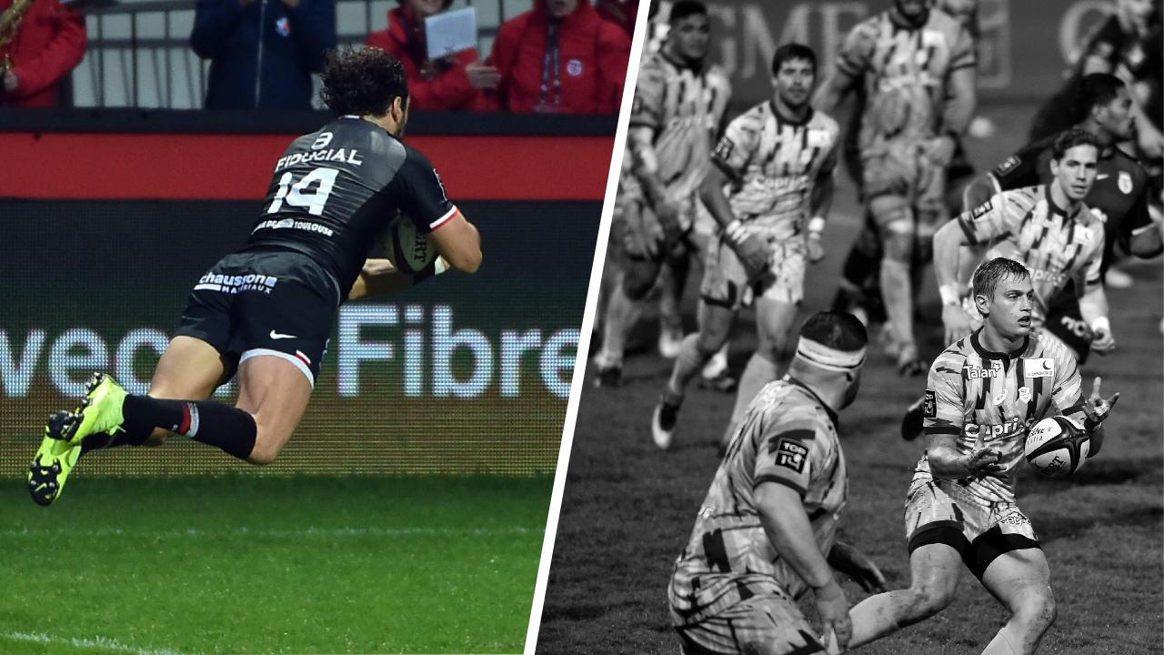 Rugby - Top 14 - Tops/Flops Toulouse-Stade Français : Huget voit double, Paris rit jaune(s)