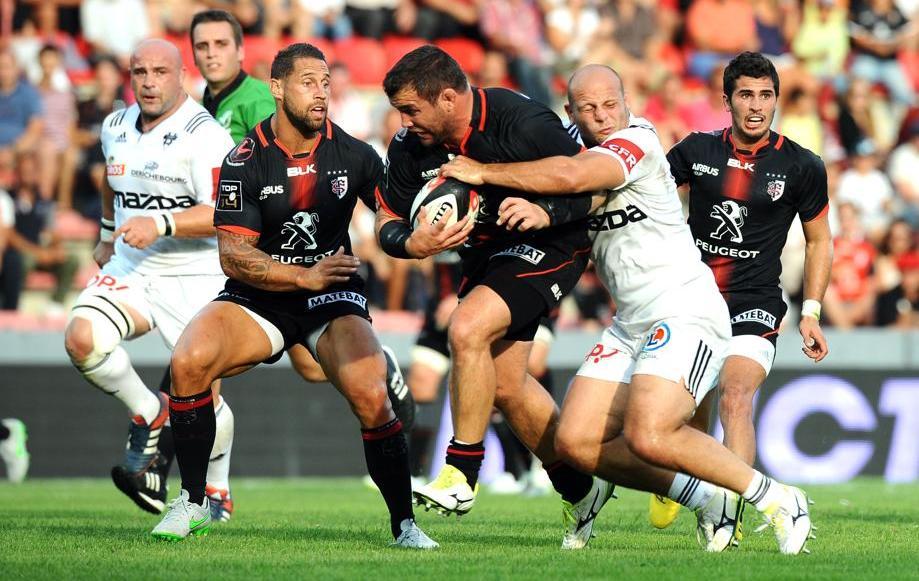 Rugby - Top 14 - Toulouse en patron à Agen