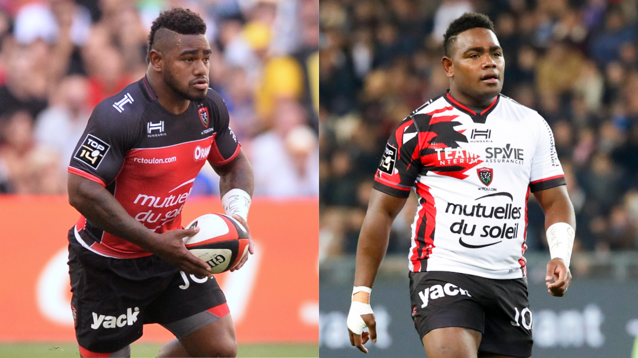 Rugby - Top 14 - Tuisova-Nakosi : Toulon lâche ses deux bombes fidjiennes