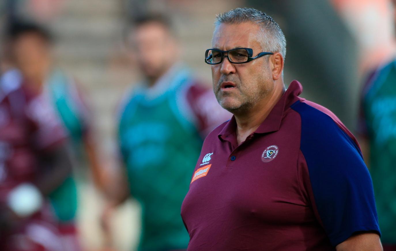 Rugby - Top 14 - Urios au Figaro : «Les joueurs de l'UBB ne sont pas des enfants gâtés»