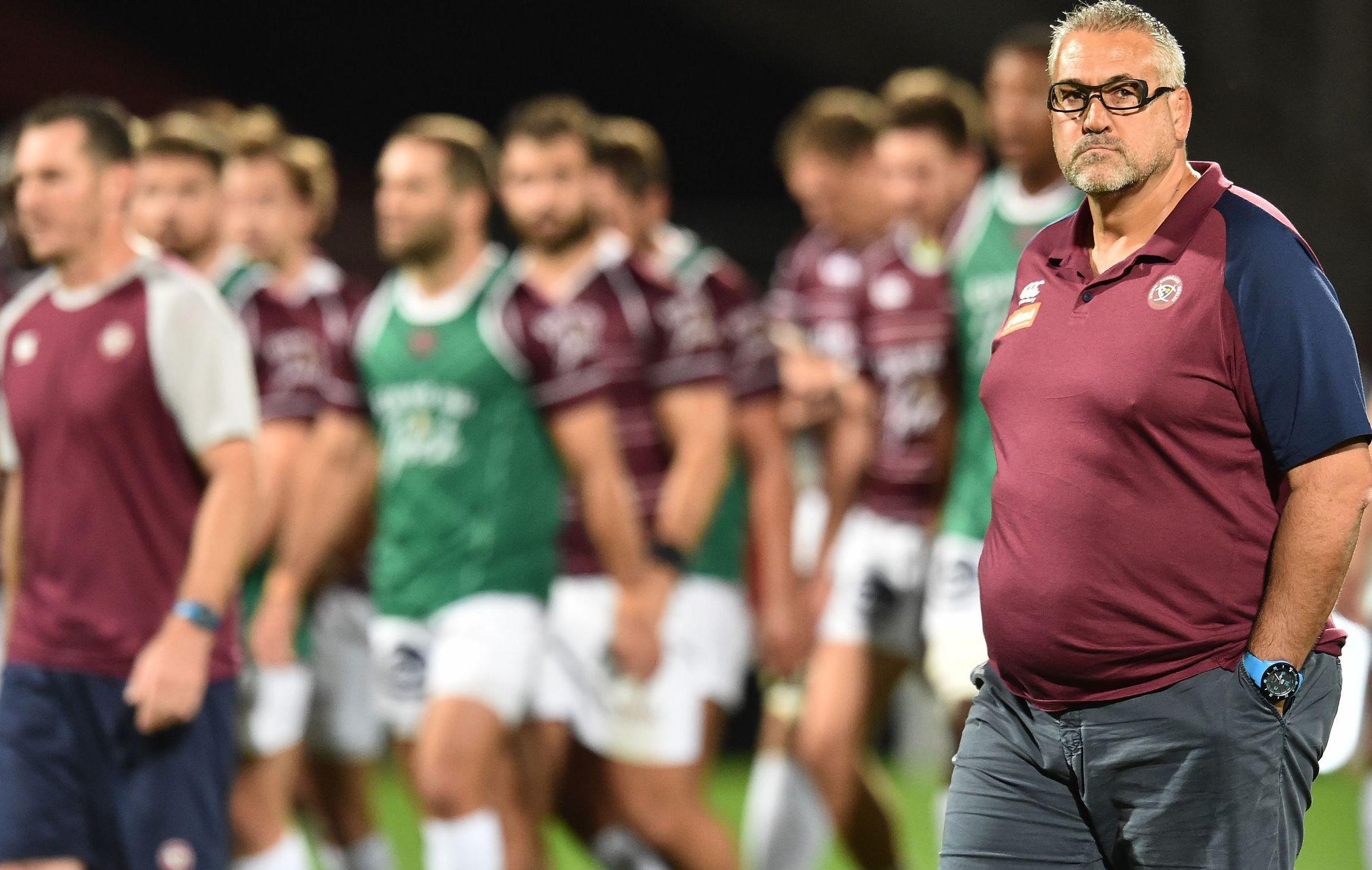 Rugby - Top 14 - Christophe Urios sur les salaires : «Le rugby doit revenir à plus de normalité »