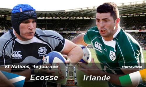 Un Trèfle déterminé - 6 Nations - Rugby -