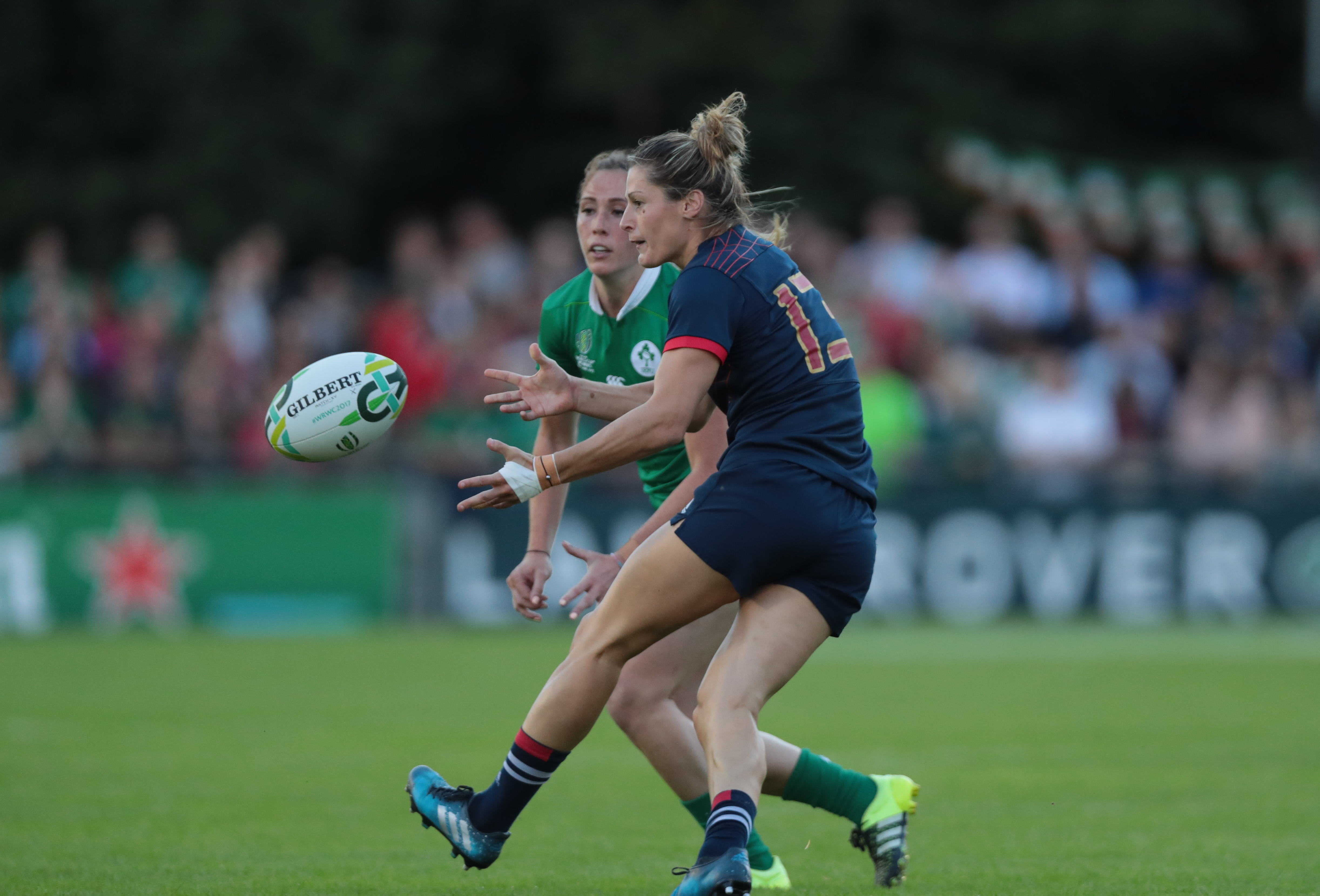 Rugby - XV de France - Caroline Ladagnous : «On a les armes pour battre les Anglaises»