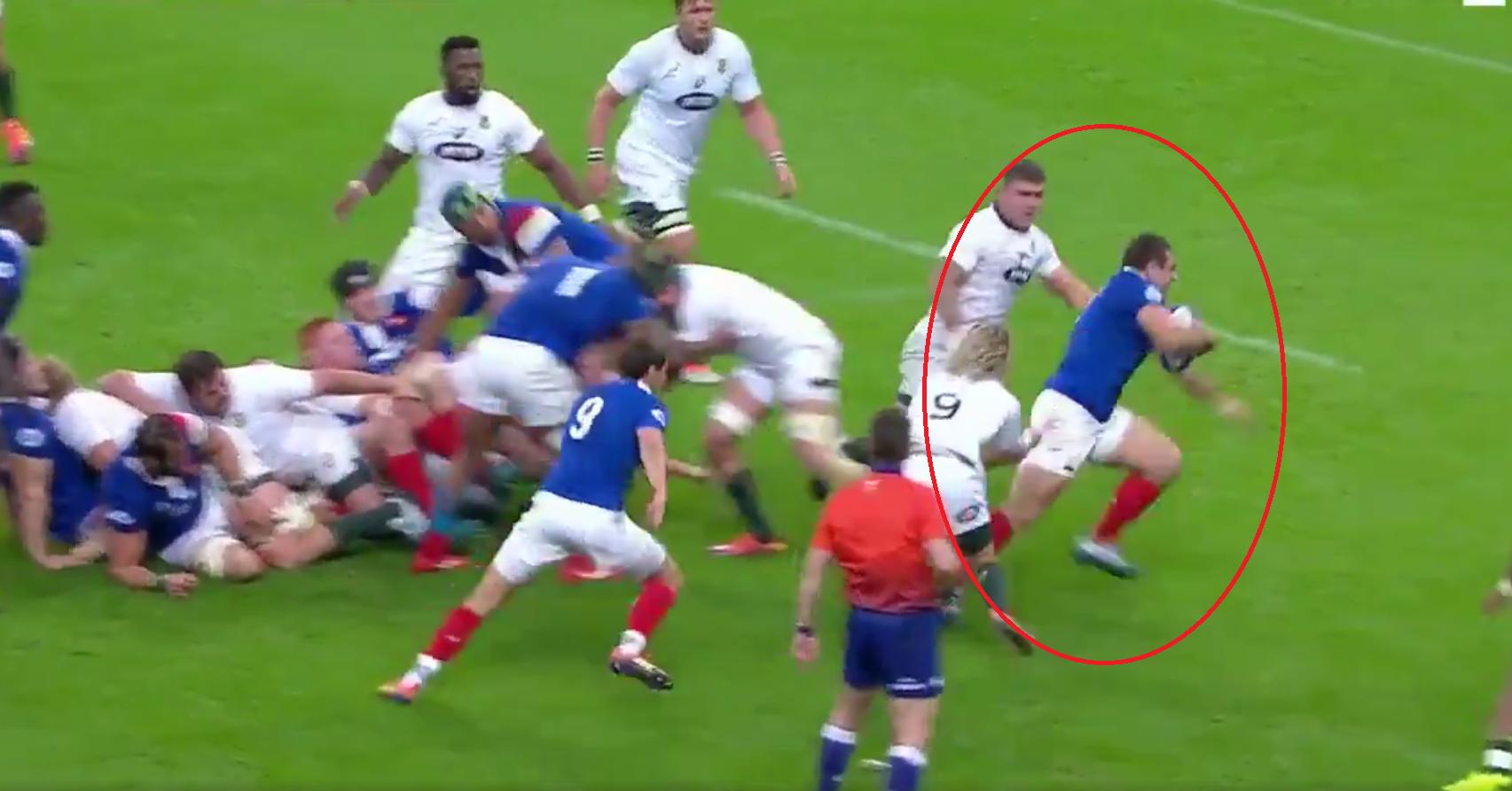 Rugby - XV de France - France-Afrique du Sud : l'essai libérateur de Guirado juste avant la mi-temps en vidéo