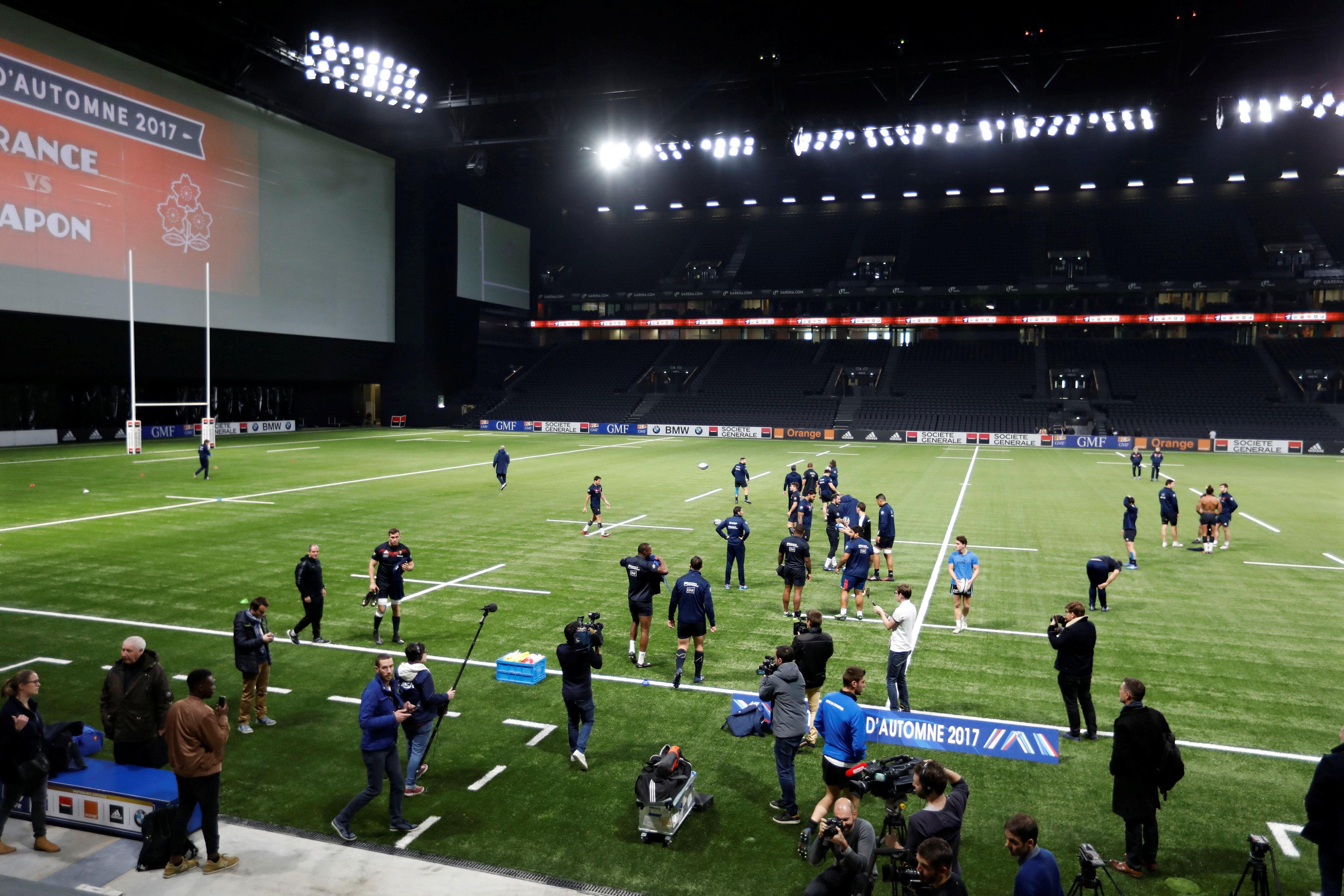 Rugby - XV de France - France-Japon devant ... 12.000 spectateurs à la U Arena de Nanterre ?