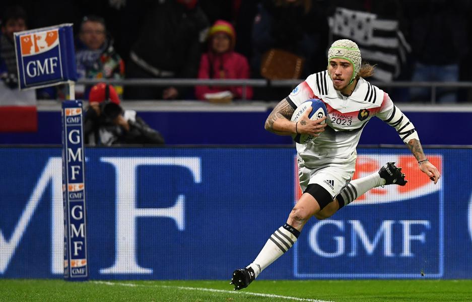 Rugby - XV de France - Gabriel Lacroix brille à sa manière