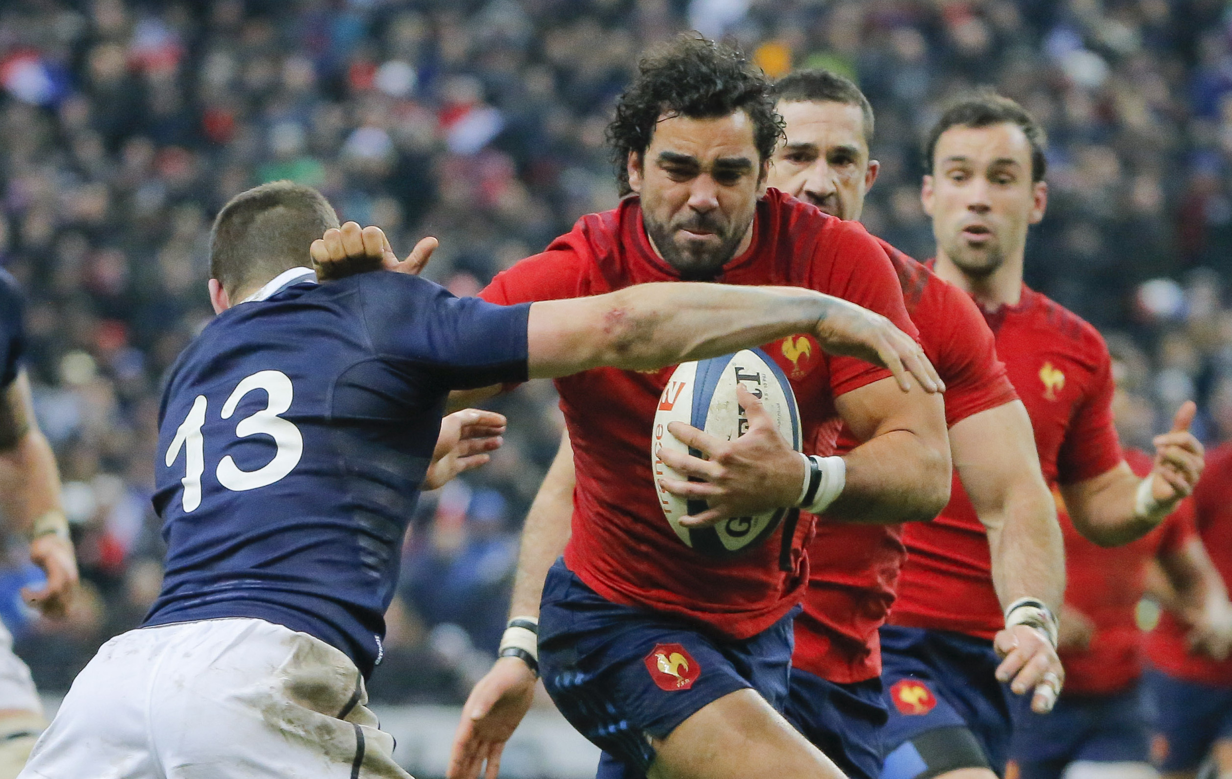 Rugby - XV de France - Huget : «On va monter en puissance»