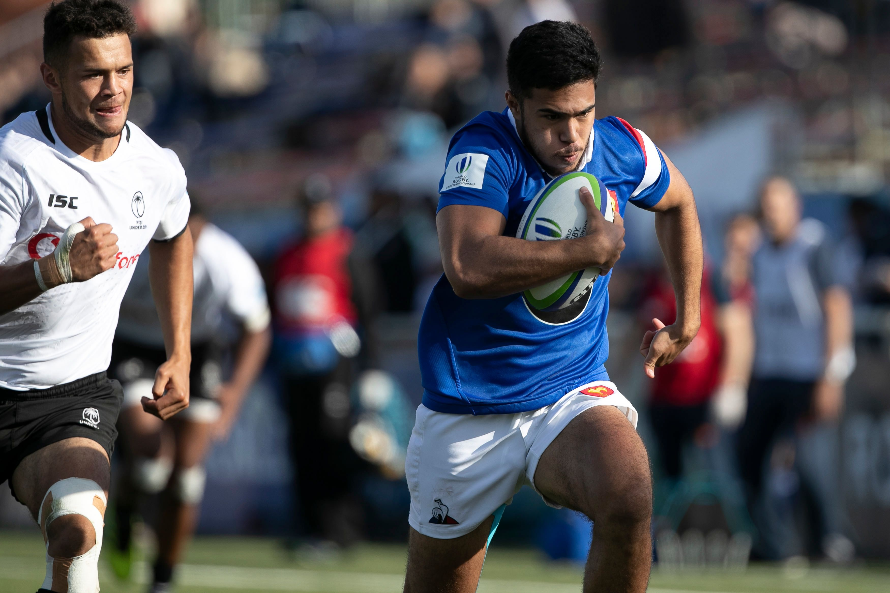 Rugby - XV de France - L'équipe de France U20 de rugby débute par une victoire au Mondial