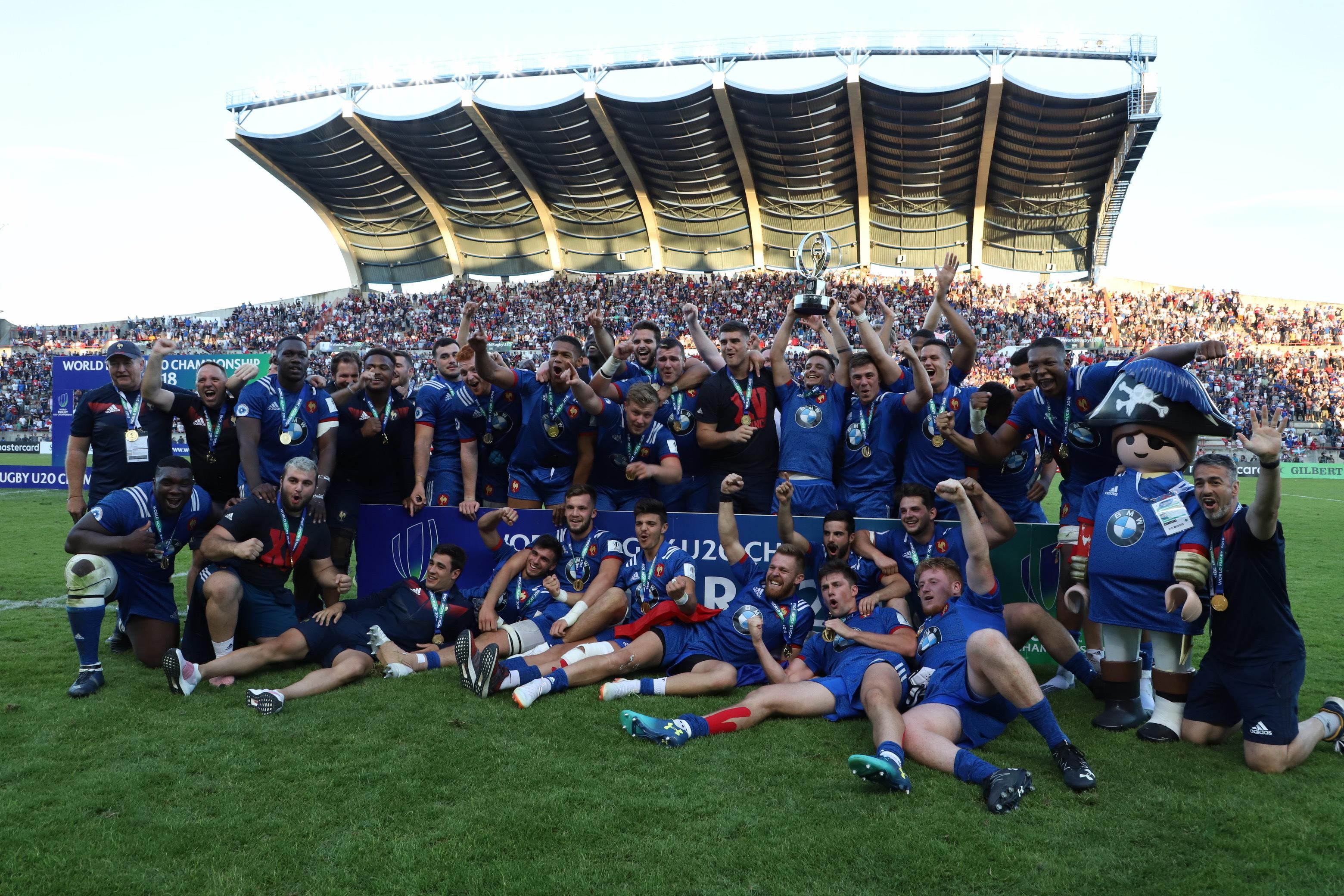 Rugby - XV de France - Le résumé du sacre des Bleuets en vidéo