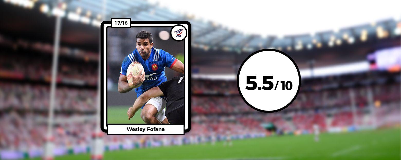 Rugby - XV de France - Les notes des Bleus : Fofana a tenté, Lamerat a gâché