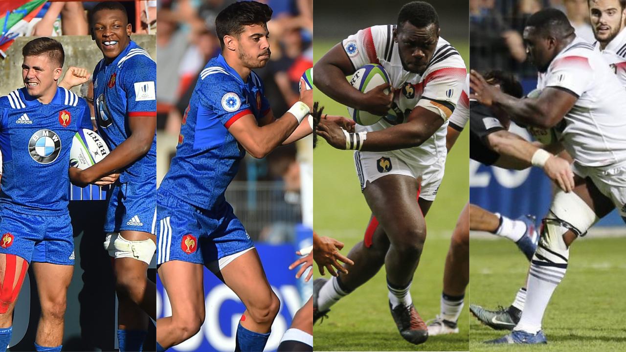 Rugby - XV de France - Moins de 20 ans et l'avenir devant eux : cinq champions du monde à suivre