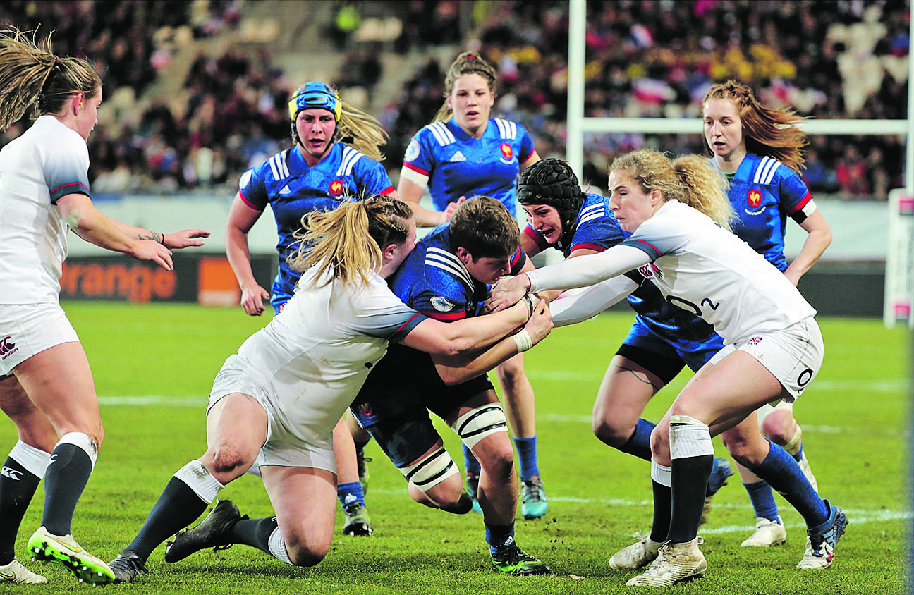 Rugby - XV de France - Quand le XV de France féminin transforme l'essai