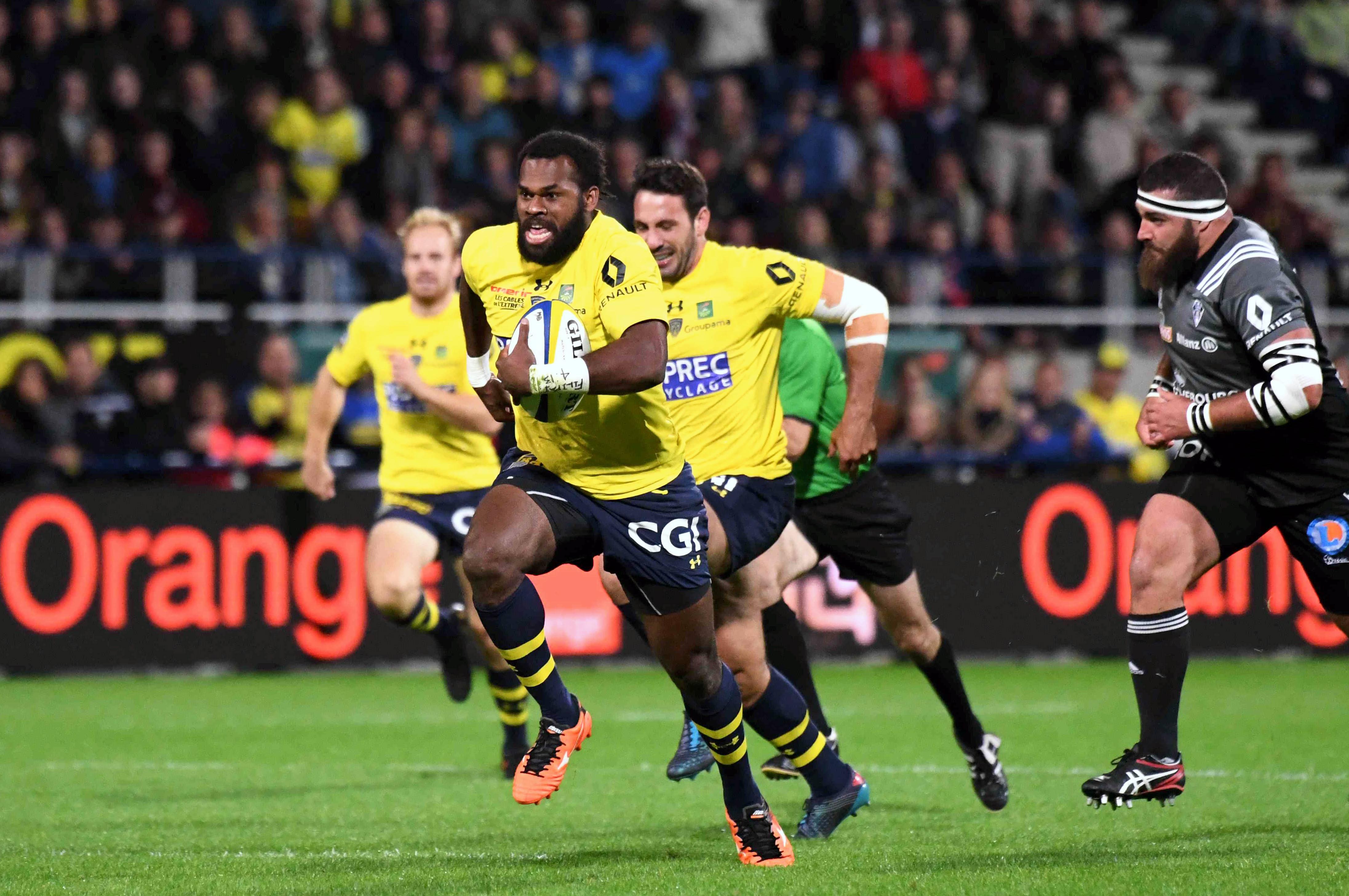 Rugby - XV de France - Raka, l'ailier fidjien de Clermont, vers le XV de France ?