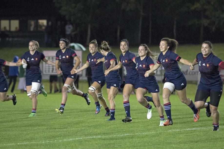 Rugby - XV de France - Record d'audience pour les Bleues du rugby jeudi