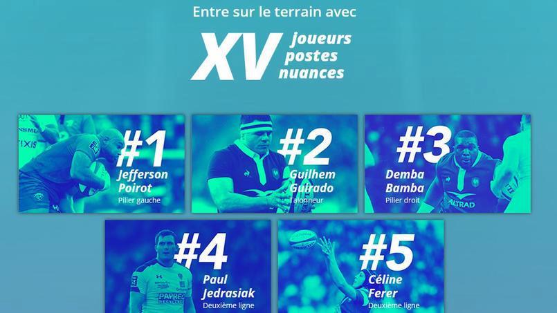 Rugby - XV de France - Rugby : une campagne pour découvrir le rugby à travers les yeux des joueurs et joueuses