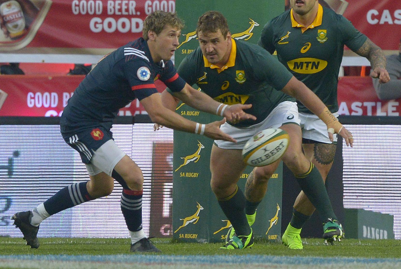 Rugby - XV de France - Serin : «C'est rageant et ça fait mal à la tête»