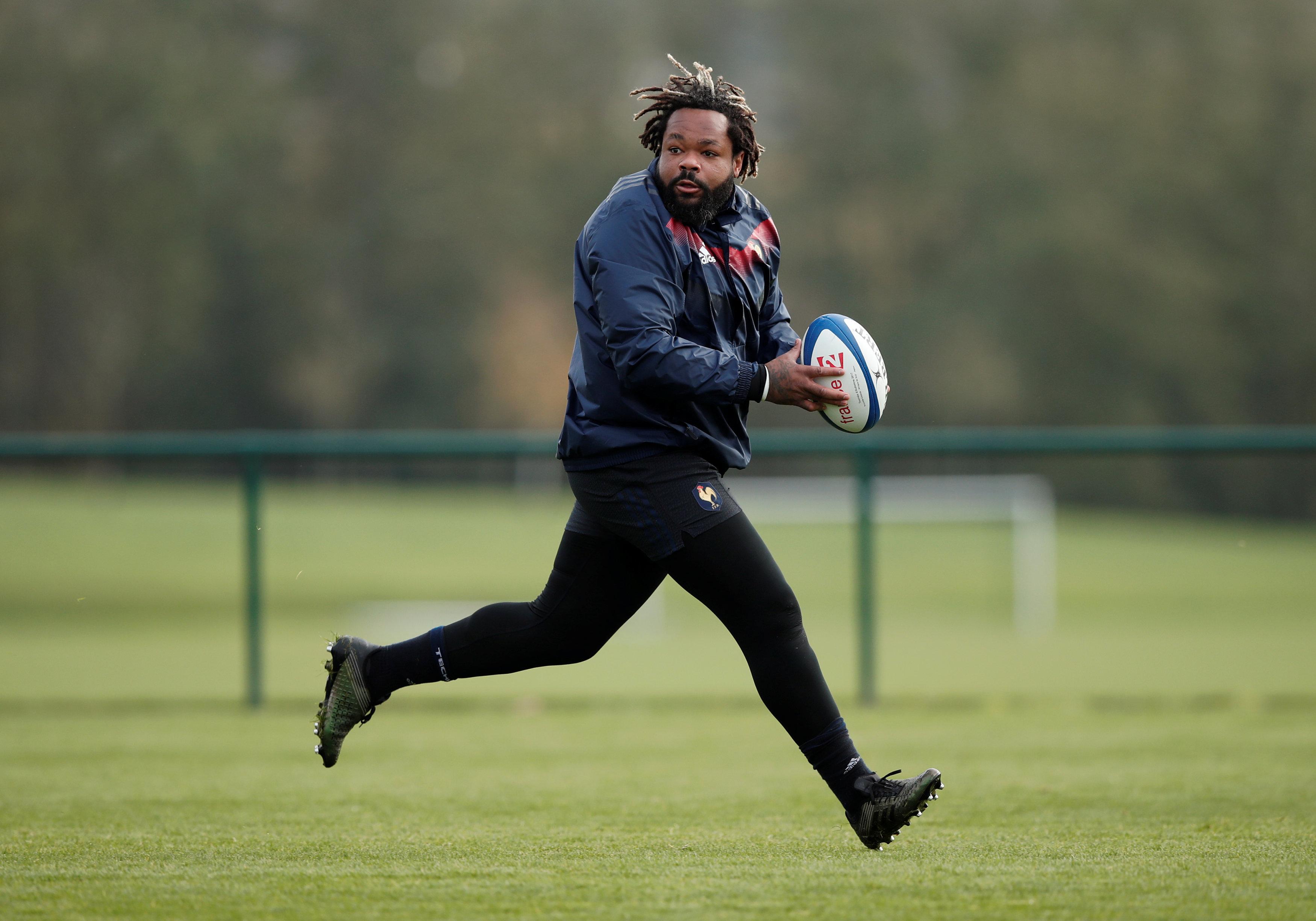 Rugby - XV de France - XV de France : Bastareaud de retour contre l'Italie