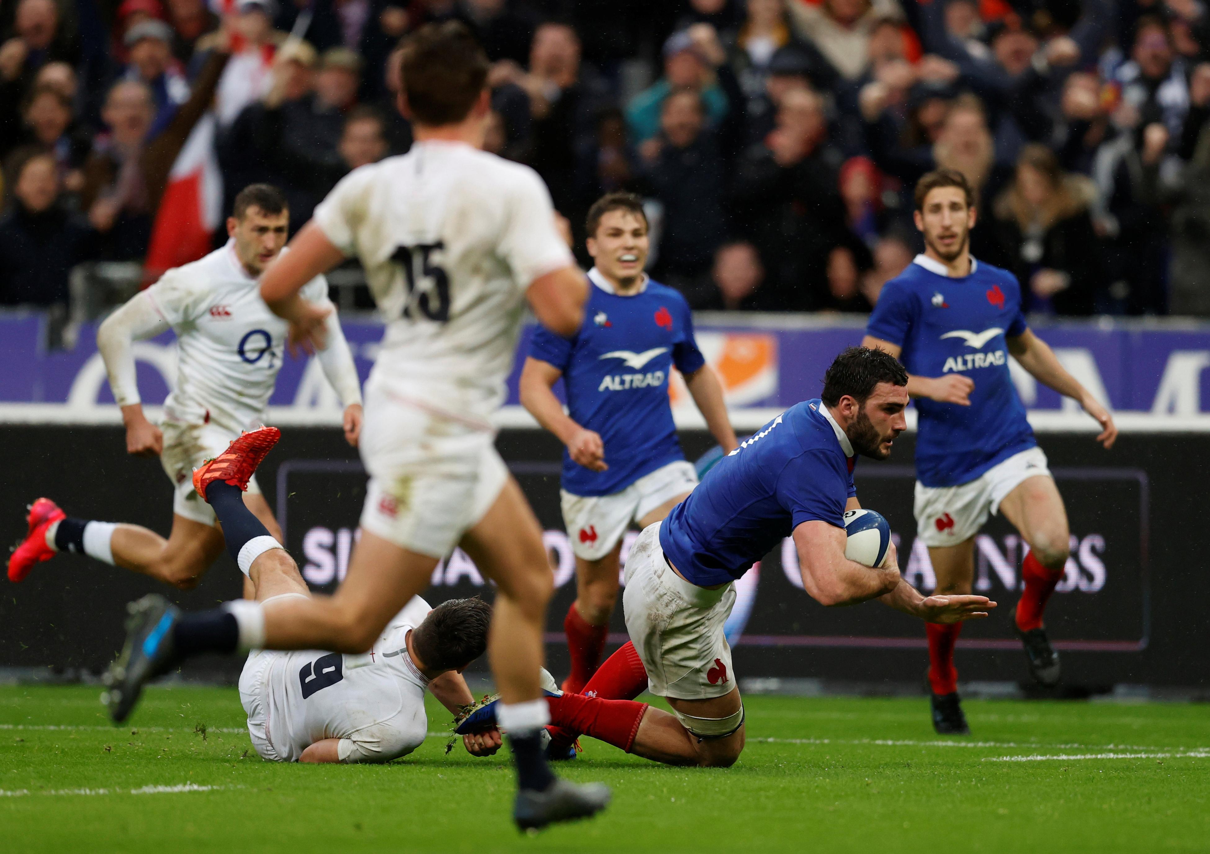 Rugby - XV de France - XV de France : revivez les 13 essais inscrits par les Bleus dans le Tournoi (vidéo)