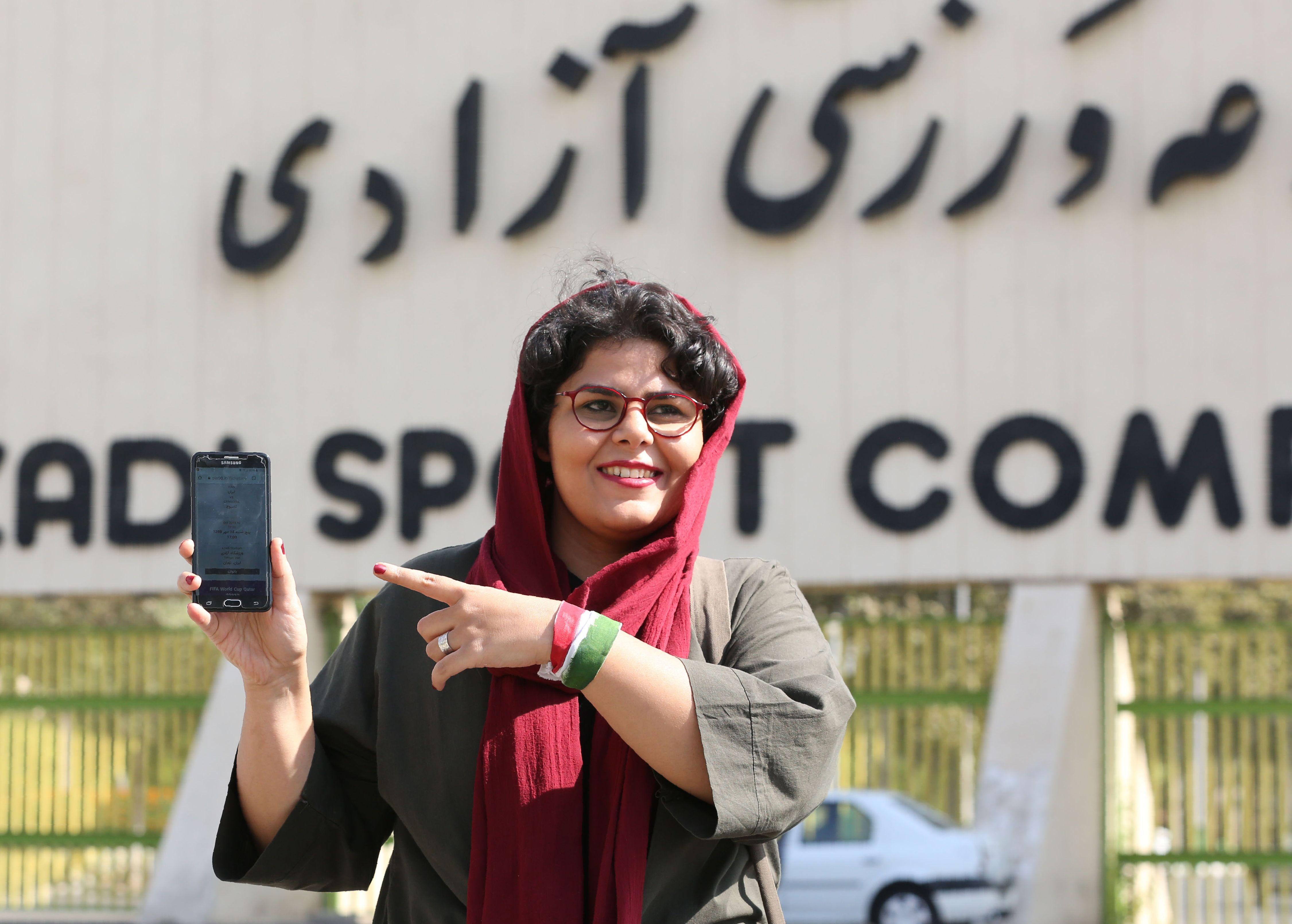 Scan Sport - 3.500 femmes en tribunes pour un match de football, une première en Iran