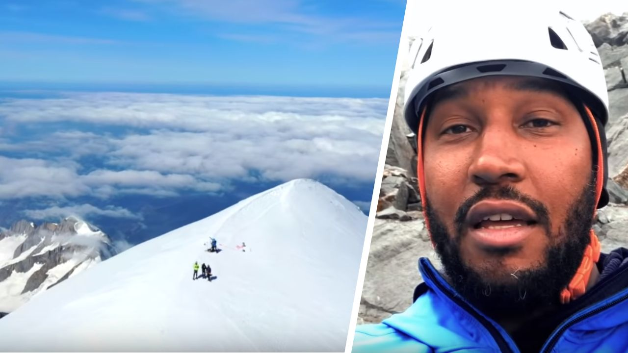 Chutes de pierre, ampoules et mer de nuages : Boris Diaw raconte son ascension du Mont-Blanc