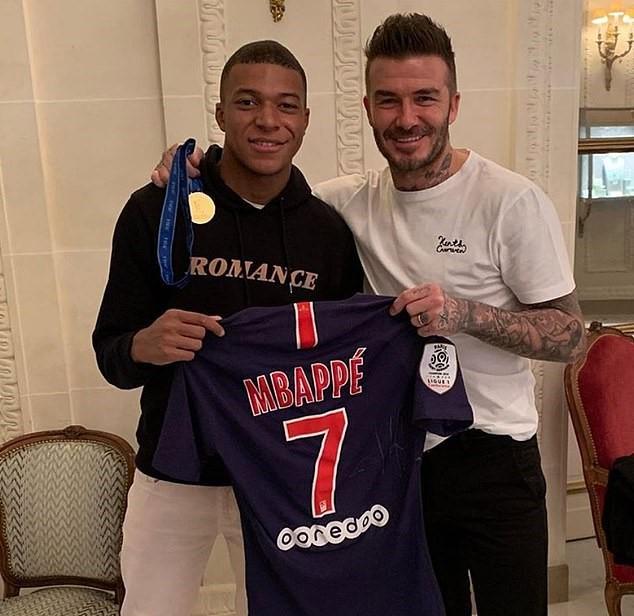 Devenu agent de joueur, Beckham veut Mbappé comme premier client - Le Figaro