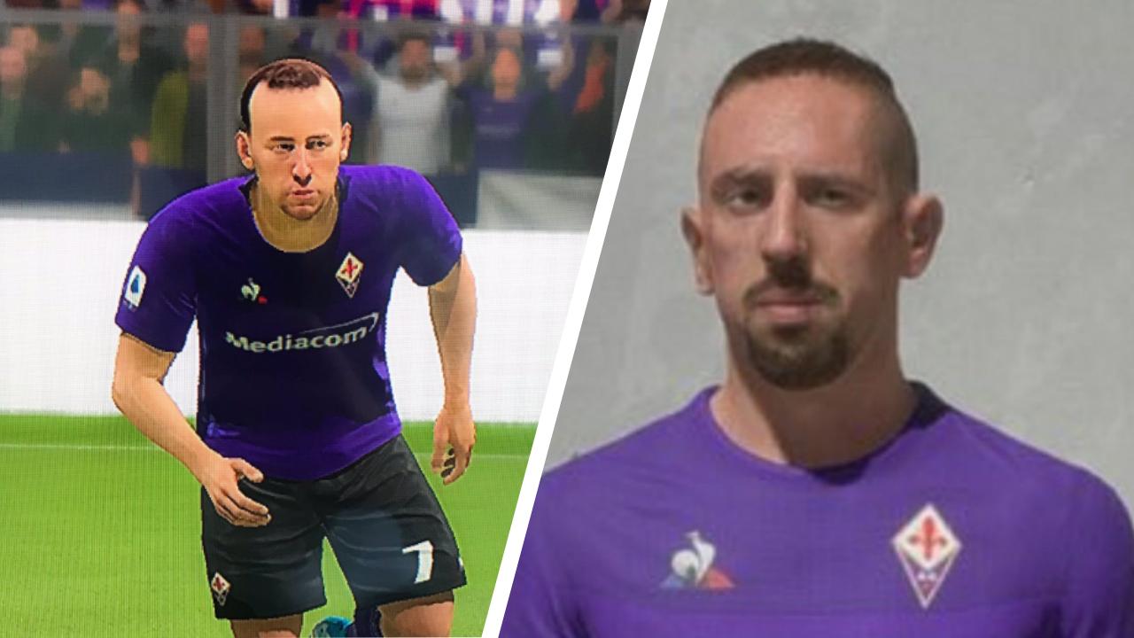 FIFA 20: Avatar raté de Ribéry, EA Sports rectifie l'erreur