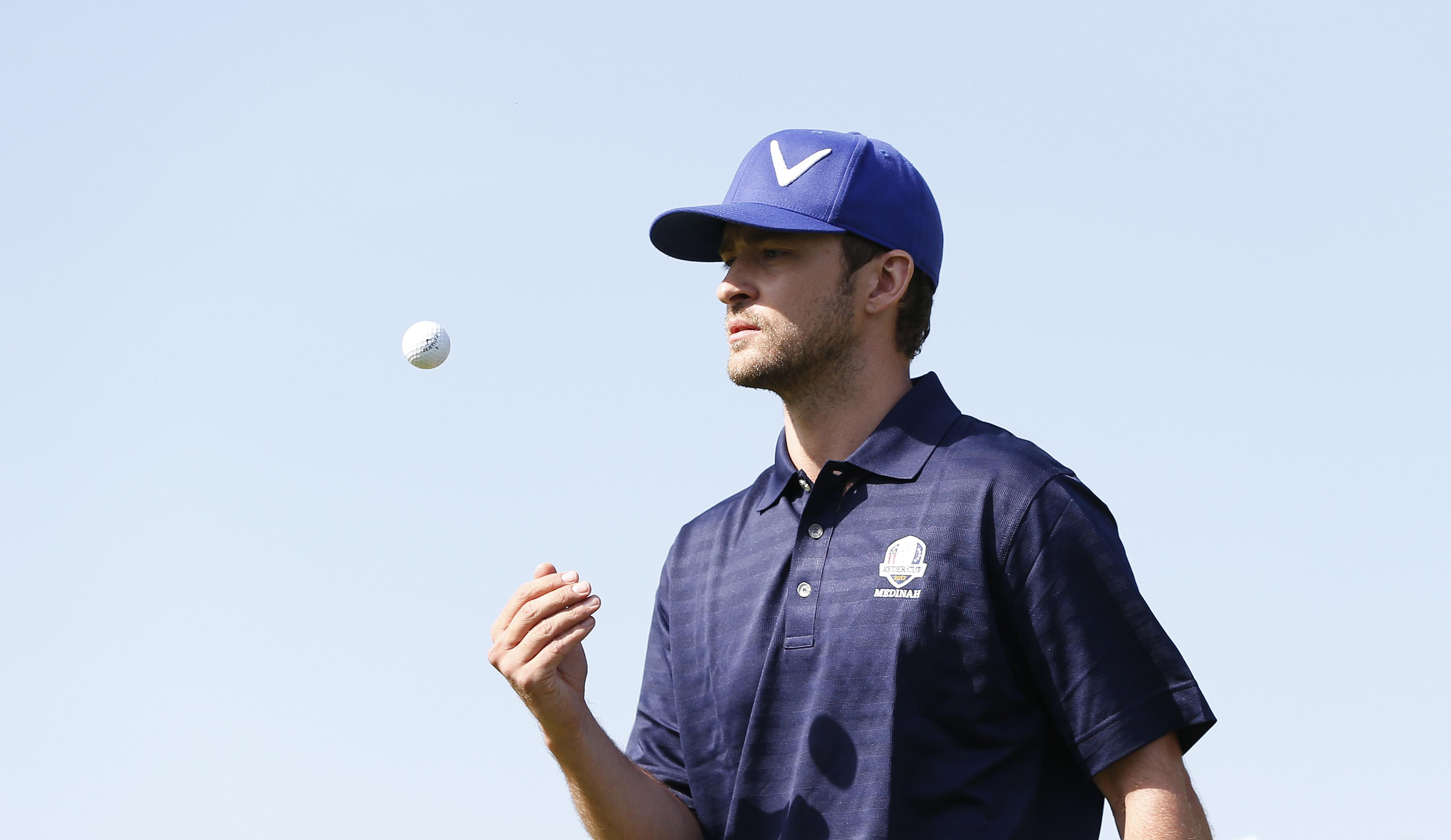 Scan Sport - Golf : Justin Timberlake va disputer le Pro-Am avant l'European Masters de Crans-Montana