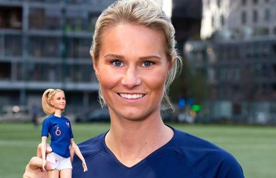 The Footballer Amandine Henry New Face Of Barbie Archyde