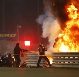 Romain Grosjean, le miraculé de Bahreïn