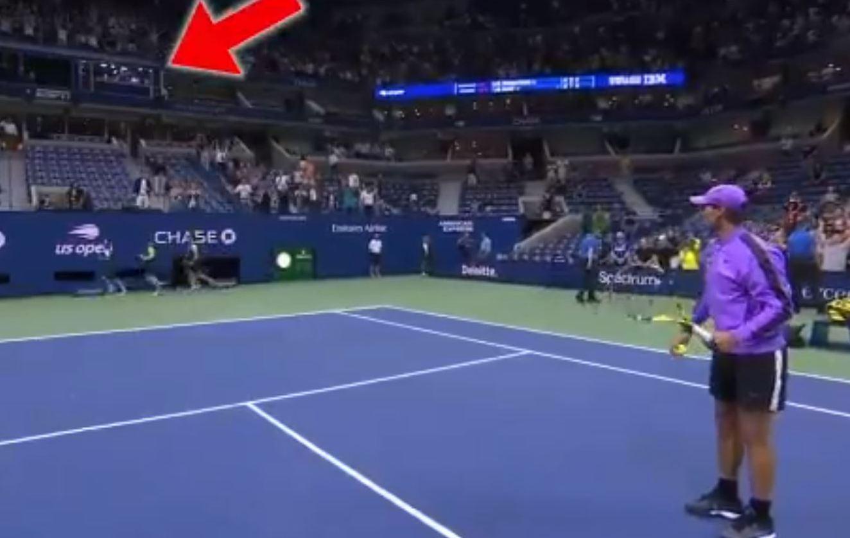 Quand Nadal vise McEnroe en cabine sur le Central de l'US Open