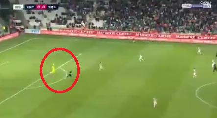 Turquie : un gardien se fait expulser au bout de… 13 secondes