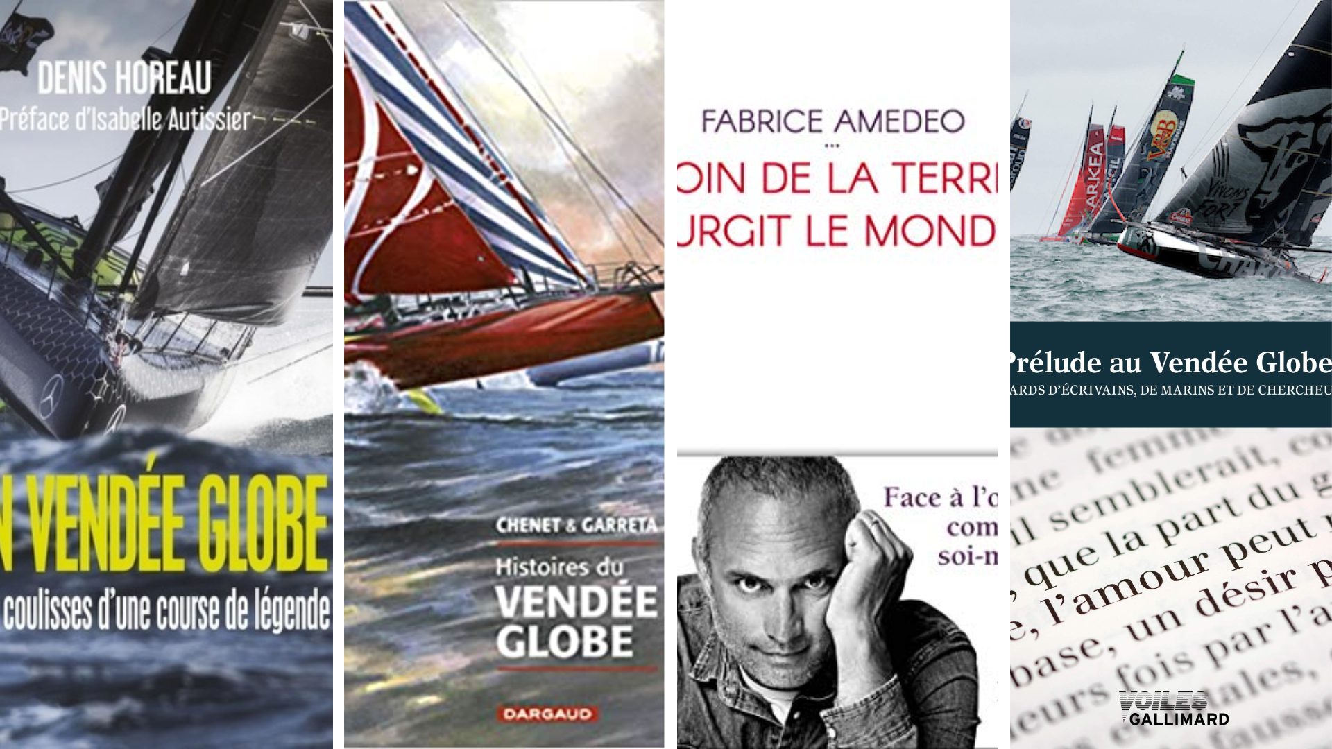 Vendee Globe Larguez Les Amarres Avec Notre Selection De Livres Scan Sport