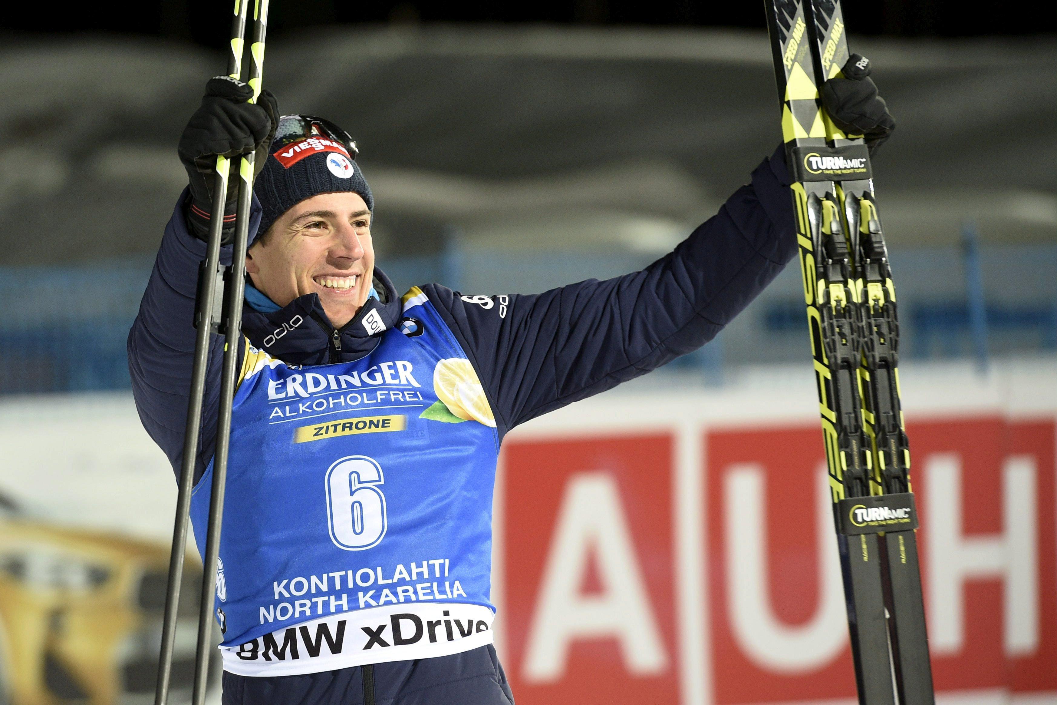 Sports d'hiver - Biathlon : Fourcade abandonne, Fillon Maillet au relais