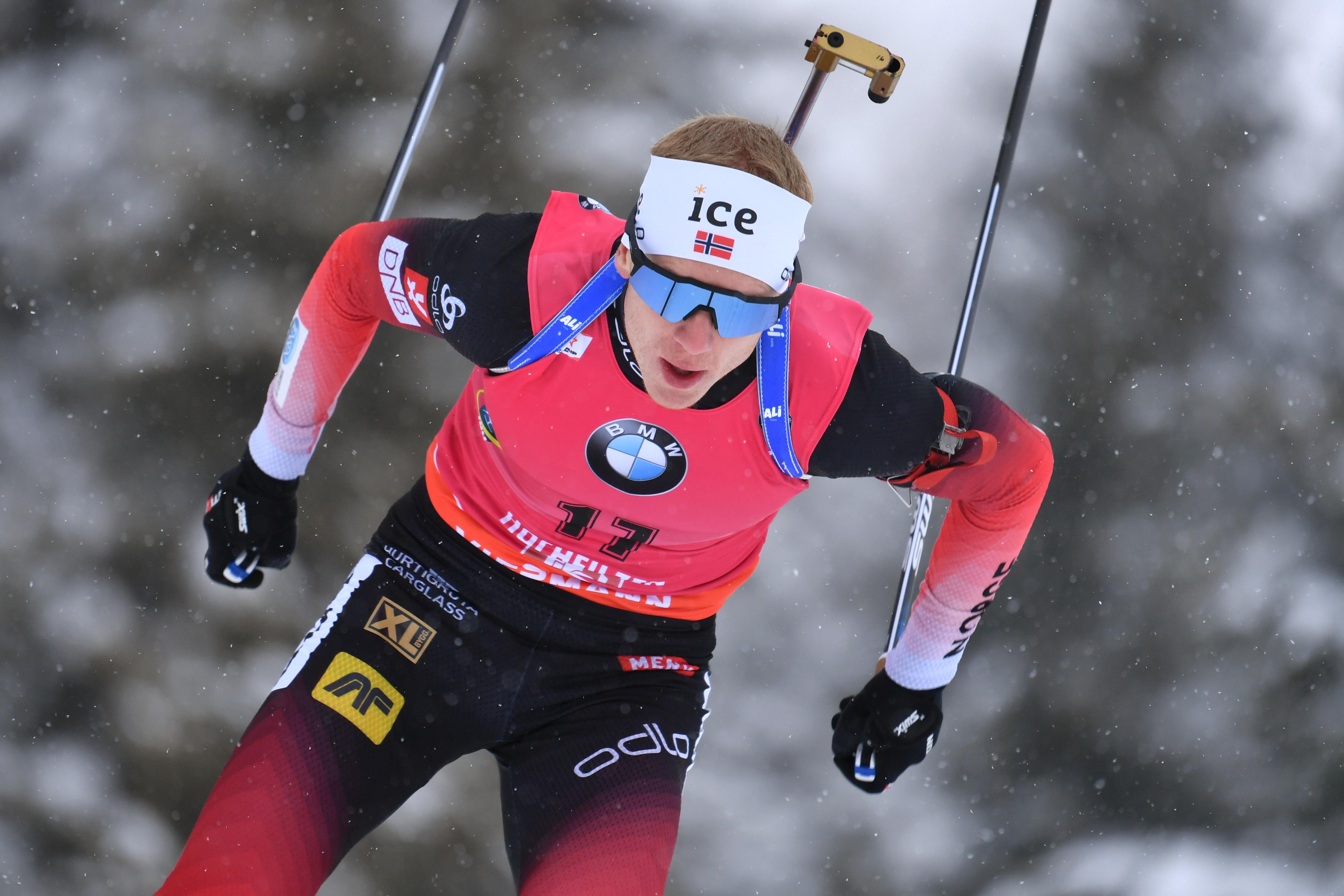 Biathlon : Johannes Boe sur son nuage, les Bleus trustent le Top 10