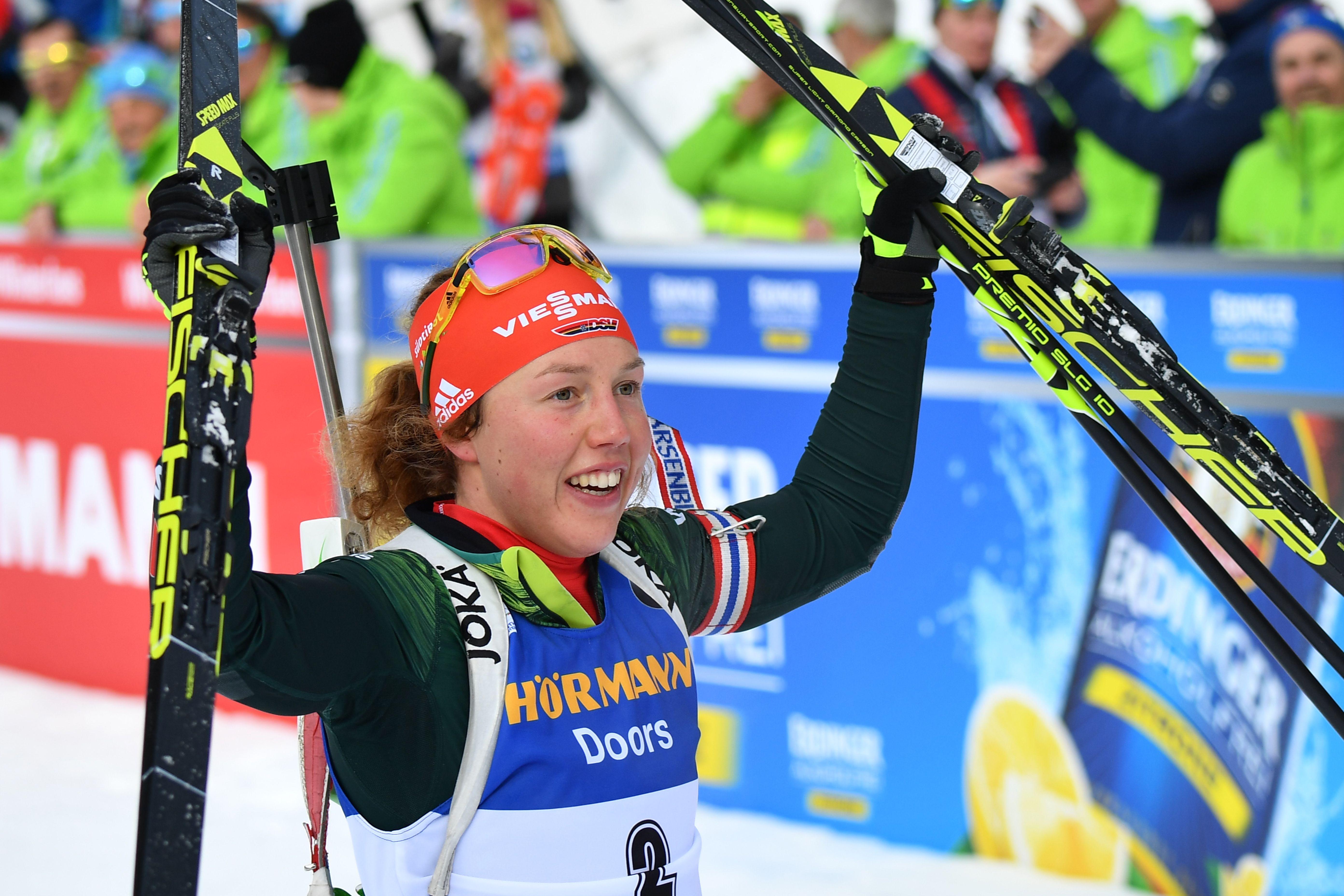 Sports d'hiver - Dahlmeier monte en puissance, Dorin-Habert se rassure